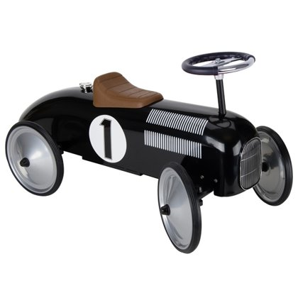Ride-on vehicle black