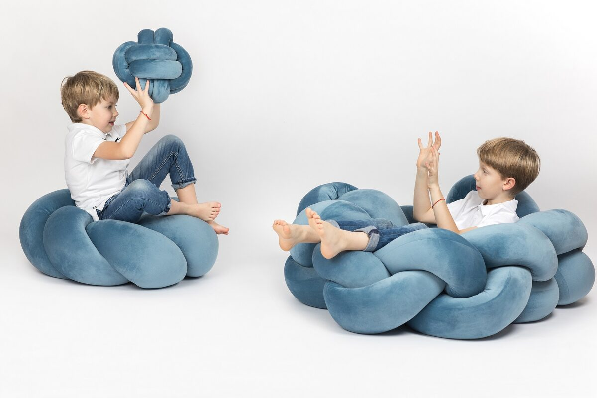 poufs and pillows